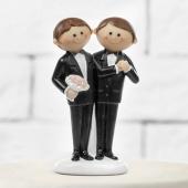 Schwules Hochzeitspaar, Figur zur Männerhochzeit