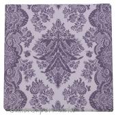 Hochzeitsservietten-Flowers-Violett