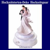 Hochzeitstorten-Dekoration-Hochzeitspaar