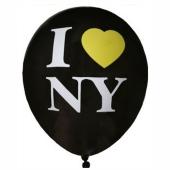 I love New York Luftballons, 8 Stück