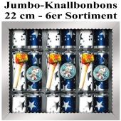 Jumbo-Knallbonbons 6er Sortiment