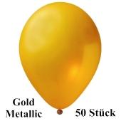 Großer 40x36 cm Luftballon, Gold Metallic