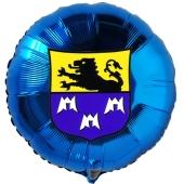 Karnevals- und Faschingsluftballon mit eigenem Wappen oder Vereinslogo