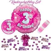 5-teiliges Partydeko-Set zum 3 Geburtstag