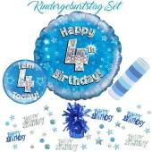 5-teiliges Partydeko-Set zum 4 Geburtstag