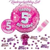 5-teiliges Partydeko-Set zum 5 Geburtstag