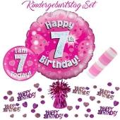 5-teiliges Partydeko-Set zum 7 Geburtstag