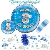 5-teiliges Partydeko-Set zum 8 Geburtstag
