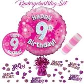 5-teiliges Partydeko-Set zum 9 Geburtstag