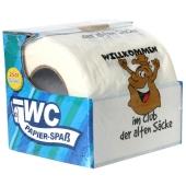 Toilettenpapier Willkommen im Club der alten Saecke