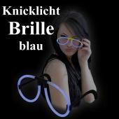 Knicklicht Brille, blau