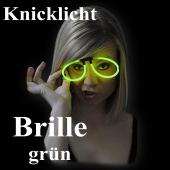 Knicklicht Brille, grün