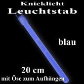 Knicklicht Leuchtstab, 20 cm, blau