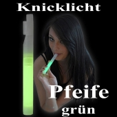 Knicklicht Pfeife, grün