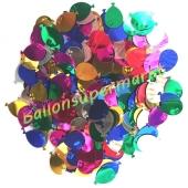 Ballons Geburtstags-Konfetti, Tischdekoration und Streudekoration zum Geburtstag
