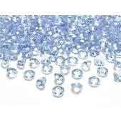 Konfetti, Diamanten, hellblau, Tischdekoration Hochzeit, Party, Geburtstag