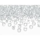 Konfetti, Diamanten, klar, Tischdekoration Hochzeit, Party, Geburtstag