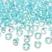 Konfetti, Diamanten, türkis, Tischdekoration Hochzeit, Party, Geburtstag