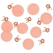 Konfetti Elegant Lush Blush 30, Dekoration zum 30. Geburtstag