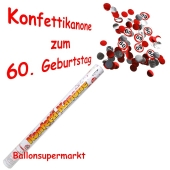 Konfettikanone zum 60. Geburtstag, Verkehrsschilder