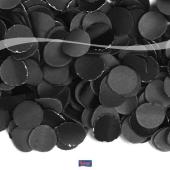 Papierkonfetti luxus schwarz