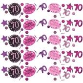 Konfetti Pink Celebration 70, 3 Sorten Streudekoration
