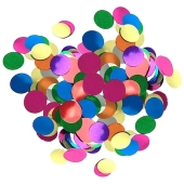 Bunte Konfetti-Punkte, Tischdekoration zu Geburtstag, Party, Fest, 15 Gramm