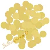Konfetti-Punkte, Gold, Matt, Tischdekoration, 15 Gramm