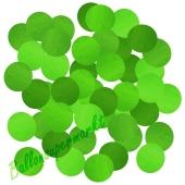 Konfetti-Punkte, Grün, Tischdekoration, 15 Gramm