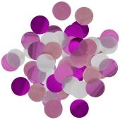 Hot Pink Konfetti-Punkte, Tischdekoration, 15 Gramm
