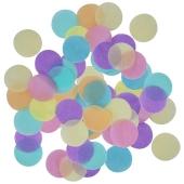 Pastel Rainbow Konfetti-Punkte, Tischdekoration, 15 Gramm