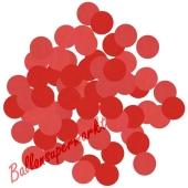 Konfetti-Punkte, Rot, Matt, Tischdekoration, 15 Gramm