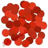 Konfetti-Punkte, Rot, Tischdekoration, 15 Gramm
