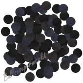 Konfetti-Punkte, Schwarz, Tischdekoration, 15 Gramm