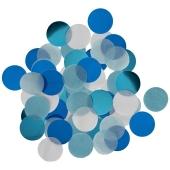 Sky Blue Konfetti-Punkte, Tischdekoration, 15 Gramm
