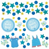 Konfetti Shower with Love Boy zur Babyparty
