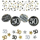 Konfetti Sparkling Celebration 50, 3 Sorten Streudekoration