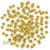Konfetti Sterne, gold
