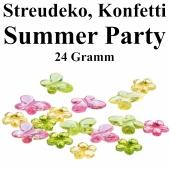 Streudeko Sommer, Konffeti Partydekoration Hawaii