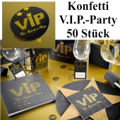 Konfetti Tischdeko, Streudekoration VIP Party