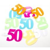 Konfetti XL zum 50. Geburtstag