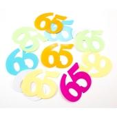 Konfetti XL zum 65. Geburtstag
