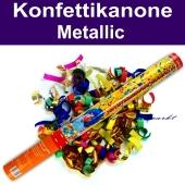Konfettikanone, Konfetti-Shooter Metallic Bunt