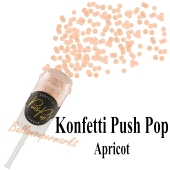 Konfetti Push Pop, apricot