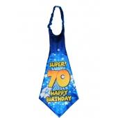 Riesen-Krawatte Super 70 Happy Birthday zum 70. Geburtstag