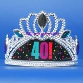 Partykrone zum 40. Geburtstag