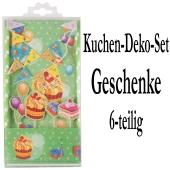 Torten Dekorations Set Geschenke, Kuchendekoration