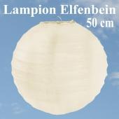 XL Lampion Elfenbein, 50 cm