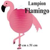 Laterne-Lampion Flamingo
