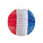 Laterne-Lampion Frankreich, 25 cm
